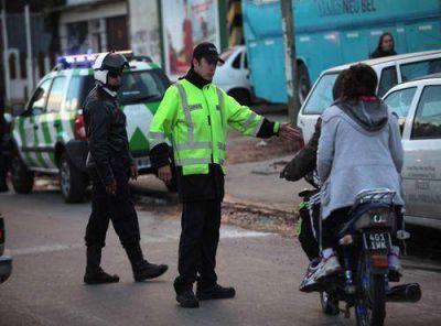 El Municipio secuestró 130 motos por falta de casco
