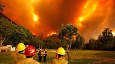 Por un nuevo foco de incendio en Chubut ordenan evacuar una villa de Lago Puelo