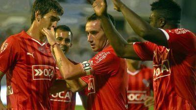 Independiente recuperó la sonrisa con dos golazos