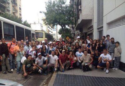 #1M: Masiva movilización desde La Plata para respaldar a Cristina