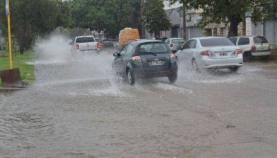 La lluvia no cesa y hay alerta meteorol�gica para la provincia
