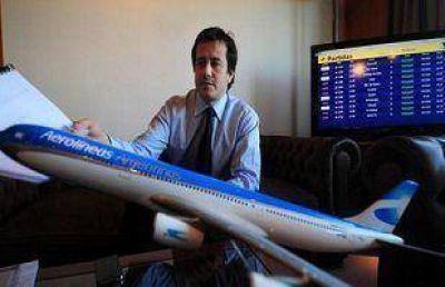 Polémica: afirman que Aerolíneas uso sus vuelos para transportar a La Cámpora Salta al #1M