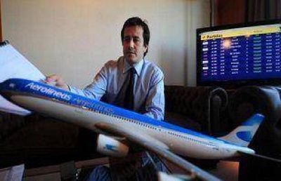 Pol�mica: afirman que Aerol�neas uso sus vuelos para transportar a La C�mpora Salta al #1M
