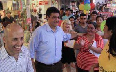Jorge Macri visitó Escobar y Pilar