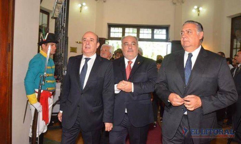 Colombi abrió la Legislatura llamando al diálogo, pero desperdigando críticas
