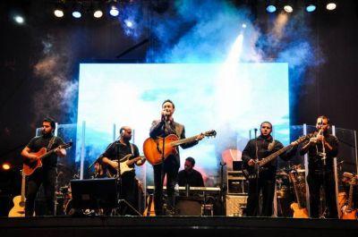 Luciano Pereyra y un recital inolvidable en la noche más espectacular de la Fiesta del Potrillo