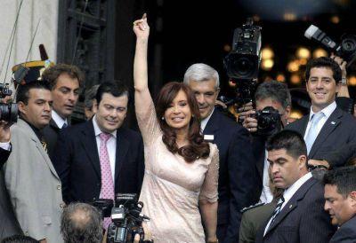 Cristina se olvidó de los paros en seis provincias: