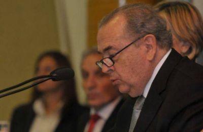 Jorge, al inaugurar las sesiones, pidió un fuerte control de Portezuelo