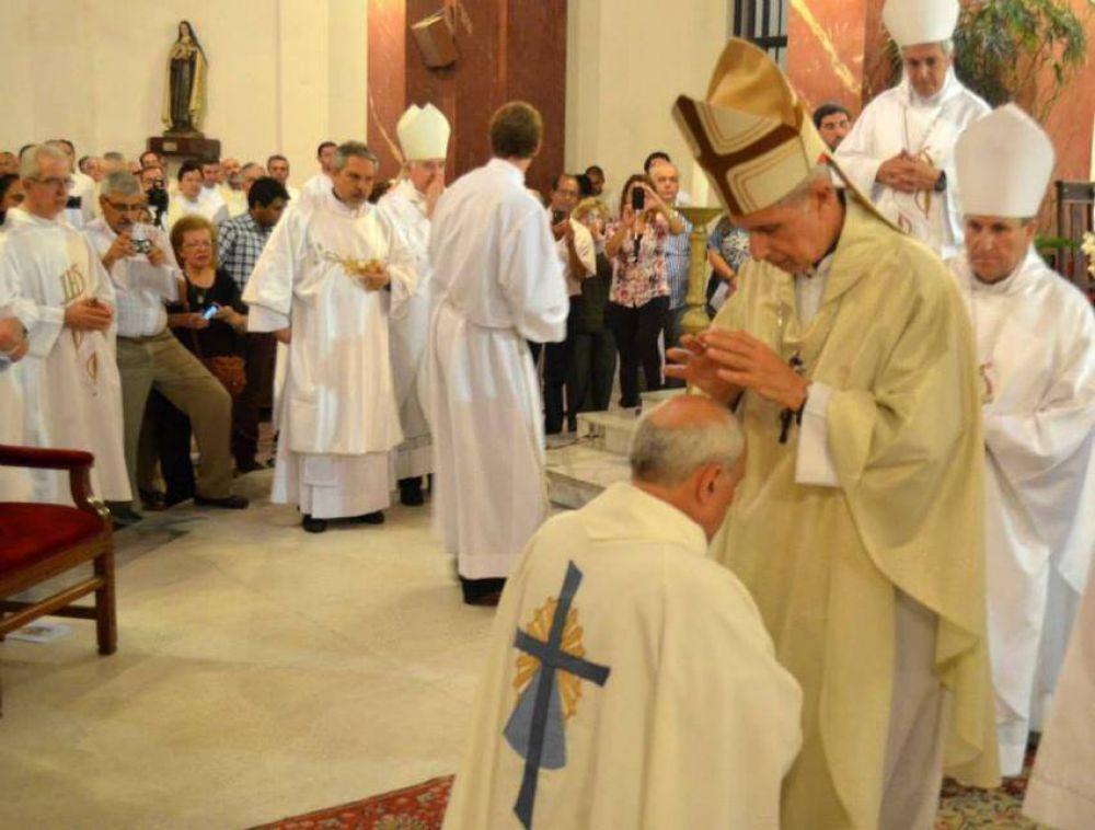 Fue consagrado el nuevo obispo auxiliar de Lomas de Zamora, Mons. Torres Carbonell