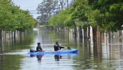 La Provincia está en alerta máxima por las lluvias