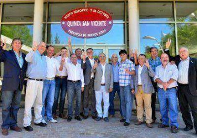 Castagneto 2015 sumó apoyo de 20 intendentes