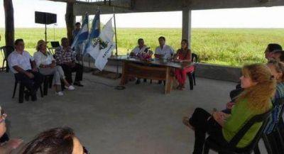 Giraud destacó el apoyo de Nación a la Comuna