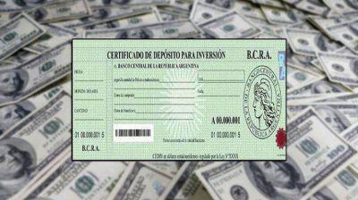 El Banco Central estimula el blanqueo de dólares vía Cedin
