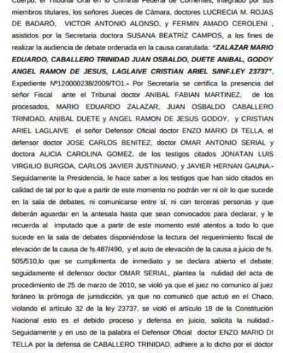Corrientes: absolvieron a cuatro personas imputadas por narcotráfico