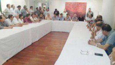 Bermejo – Martínez Palau hicieron su primer reunión con gremios
