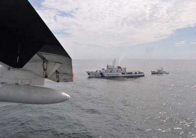 Los buzos de Prefectura llegaron hasta el buque hundido