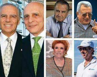 Seis argentinos siguen en el selecto club de los mil millonarios