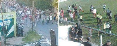 Grave choque entre barras de Laferrere y la Bonaerense