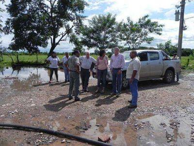 Agua potable – destacan avances de obras en Vinalito