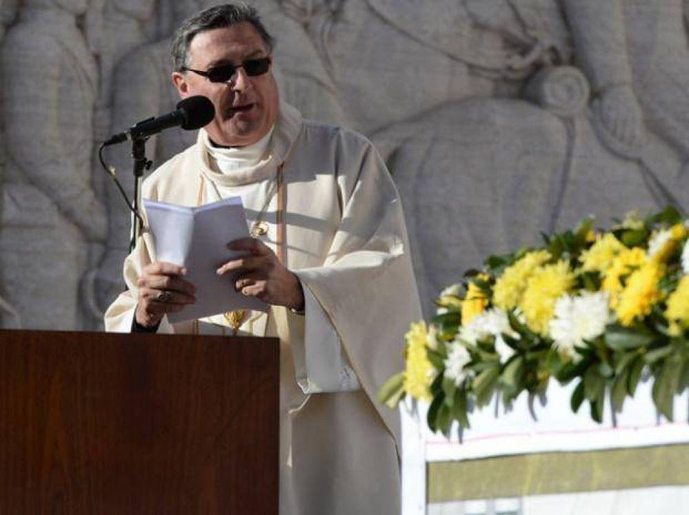 Mons. Eduardo Martín pidió más seguridad en Rosario