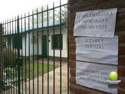 COMIENZO DE CLASES FRAGMENTADO: LA HUELGA DOCENTE TUVO UNA ADHESION DE CERCA DEL 90%