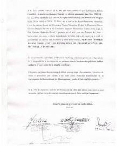 Caso Marisol| DENUNCIAN A LA FISCAL HORTEL POR LA NO PRESERVACION DE PRUEBAS