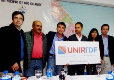 Federico Sicurano celebró haber sumado al espacio de Cesar Vargas a UNIR TDF