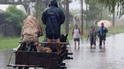 Más de 5 mil evacuados en cinco provincias del centro del país