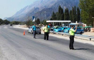 Realizan operativos de prevención en las zonas afectadas por los incendios