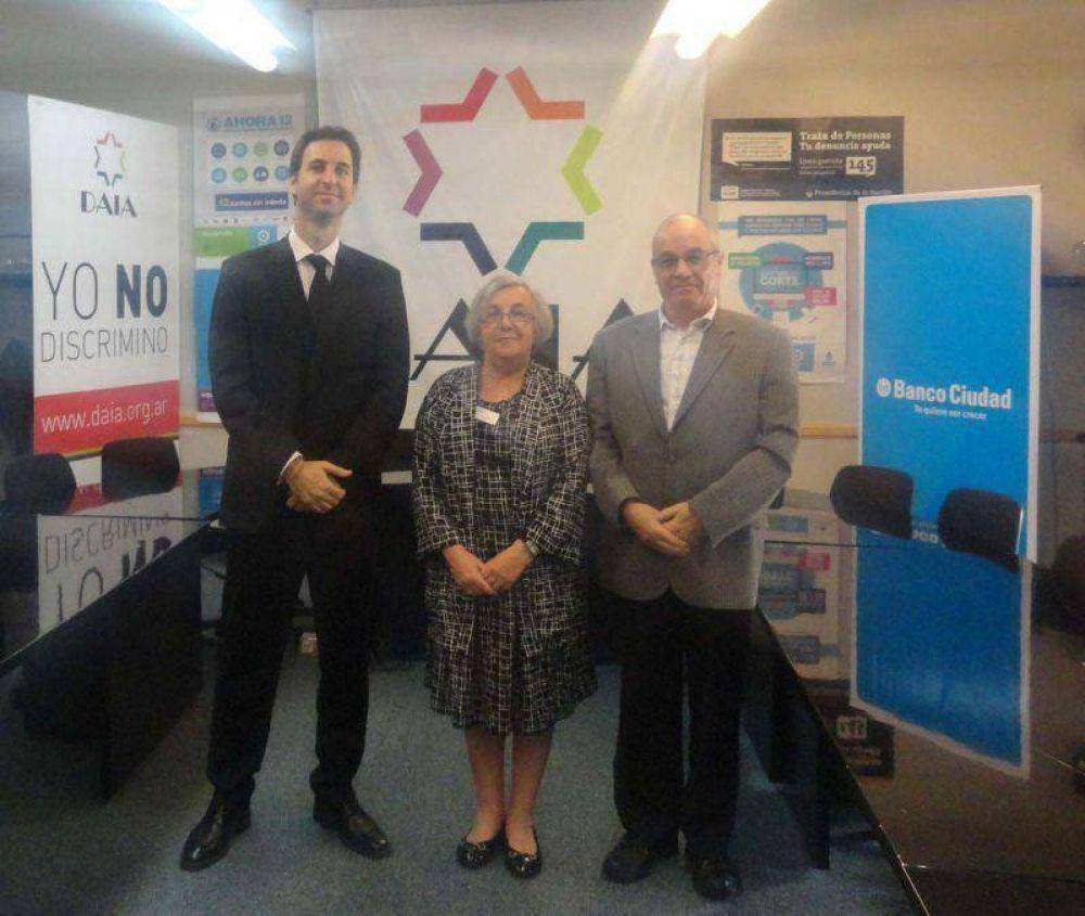 La comunidad judía de Manchester visitó la DAIA