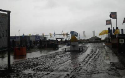 Expoagro 2015: Suspendieron inauguración por mal tiempo