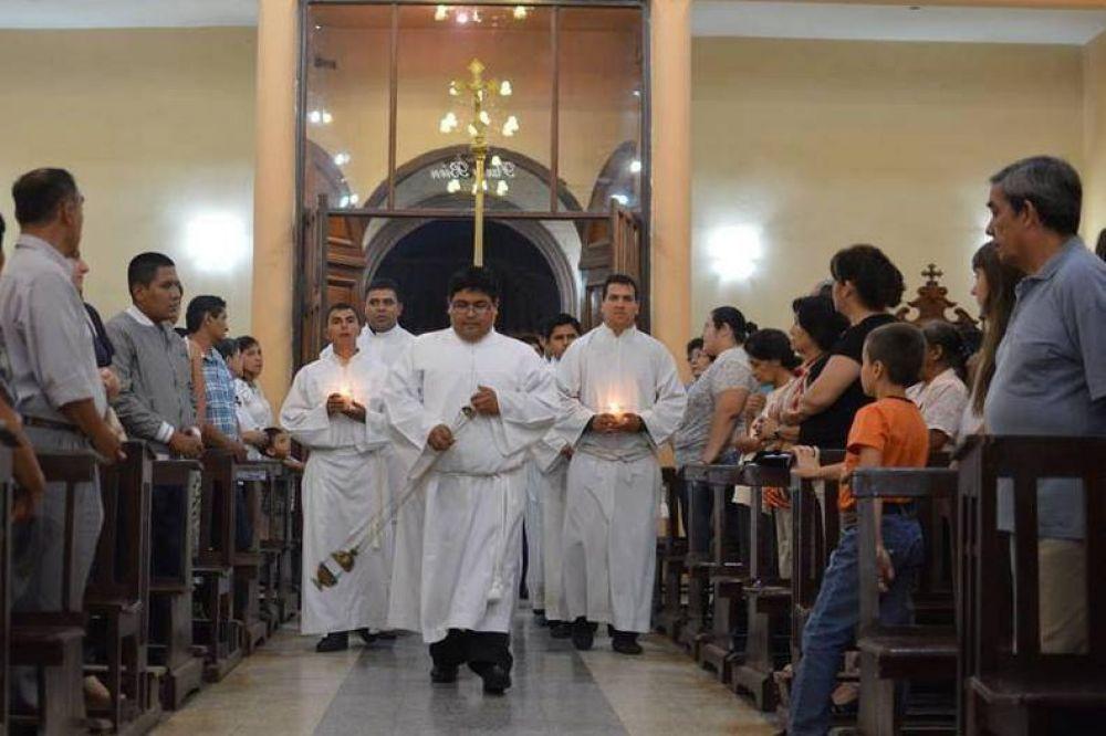 Mons. Zanchetta alienta a los seminaristas a ser fieles y dóciles a la voluntad de Dios