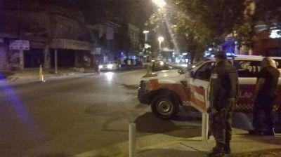 Se realizaron controles vehiculares en las calles del distrito