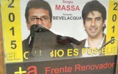 Bragado: Agresión contra local partidario y vivienda de candidata massista