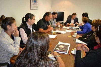 Gobierno y el Directorio del IPAUSS analizan elevar un proyecto a la Legislatura