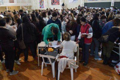 Docentes de secundaria se inscribieron en comisión de ofrecimientos en Río Gallegos
