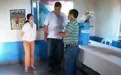 Mercedes: entregaron transformador en un barrio