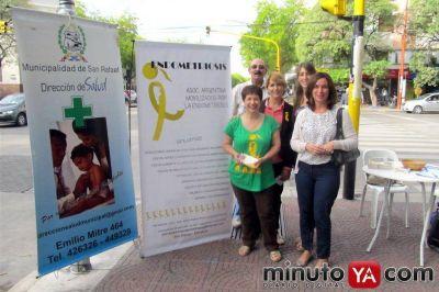 Campaña para concientizar sobre Endometriosis