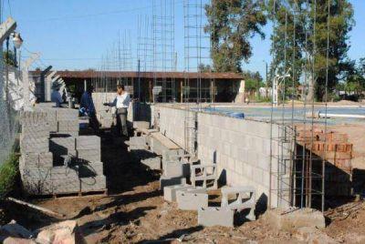 El gimnasio municipal de Baradero sólo necesita el aval de HCD para continuar con la obra