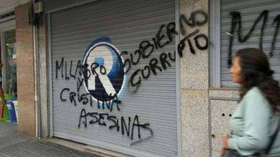 Gobierno de Jujuy repudió pintadas