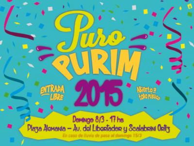 Puro Purim: nuevo lugar, más propuestas