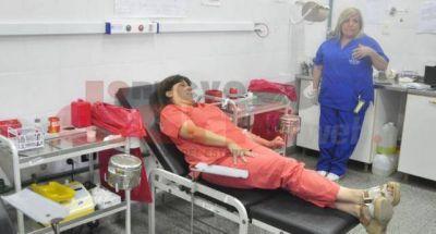 Hoy se realiza una colecta de sangre para los más afectados