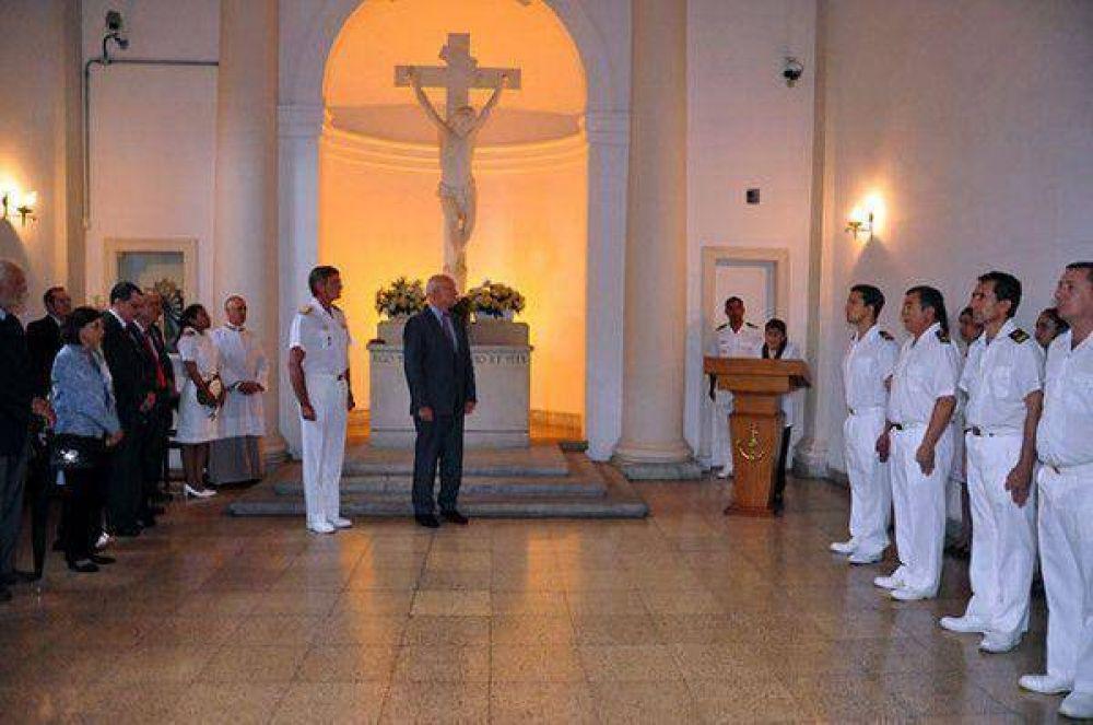 Ceremonia por el 158 aniversario del fallecimiento del Almirante Guillermo Brown