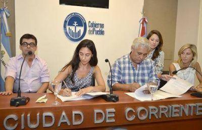Fabián Ríos firmó un convenio con Economía de la Nación para incorporar tecnología a la futura ACOR