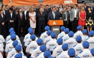 Scioli puso en marcha la primera camada de la Polic�a Local