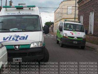 """Gabrielli: """"En Junín tenemos una sola ambulancia, pero vendrán más"""""""