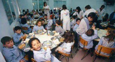 No alcanza el monto que se destina para los comedores escolares