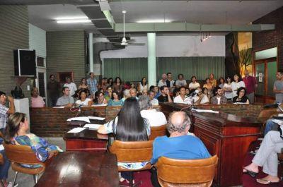 Vecinos autoconvocados piden al Concejo cambios en la ordenanza de agroquímicos