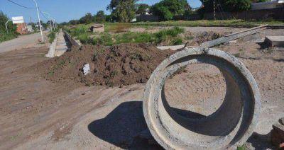 Construirán el desagüe de la Esperanza con $14 millones de la Nación