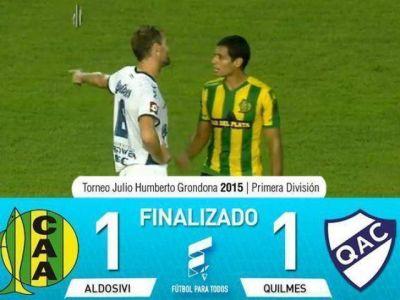 Quilmes no pudo ganar en Mar del Plata